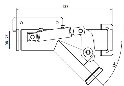 scambiatore idraulico deviatore di flusso idraulico